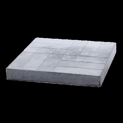 Тротуарная плитка «12 кирпичей» 500x500x60 мм