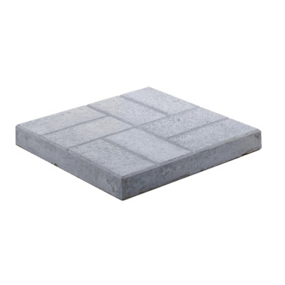 Тротуарная плитка «8 кирпичей» 400x400x50 мм