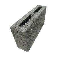 Блок перегородочный КПР-ПР-ПС 390x120x188 М100 пустотность 30%