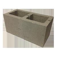Блок стеновой КСР-ПР-ПС 390x190x188 М100 пустотность 40%