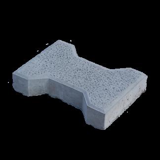 Тротуарная плитка «Катушка» 270x195x50 мм