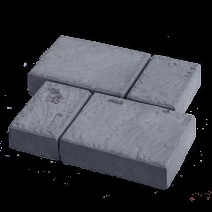 Тротуарная плитка «Старый город» комплект 150x200 мм - 2 шт. 150x100 мм - 2 шт.